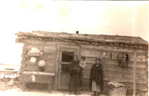 William Carter family 1922 Agency District Cheyenne River Indian Reservation