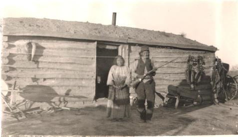Long Mandan 1922 survey Thunder Butte District Cheyenne River Reservation