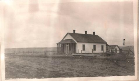"Whitehorse District ""Farmer's"" House 1922 Survey Photo"