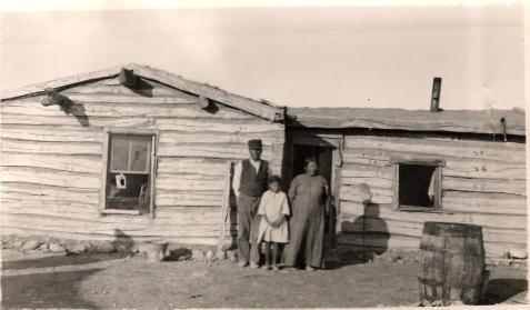 William Swan & family 1922 Whitehorse District Cheyenne River Indian Reservation